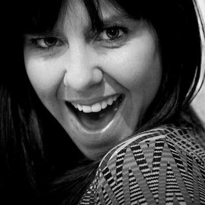 Black and white photo of Sarah Shead